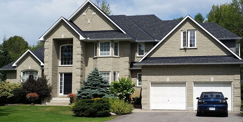 housing roof project completed in the Ottawa area - A1 Pro Roofing Ottawa Kanata Orleans
